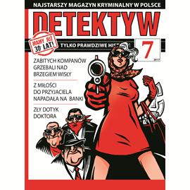 okładka Detektyw nr 7/2017, Audiobook   Agencja Prasowa S. A. Polska