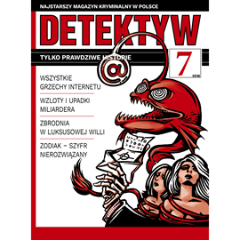 okładka Detektyw nr 7/2018, Audiobook   Agencja Prasowa S. A. Polska