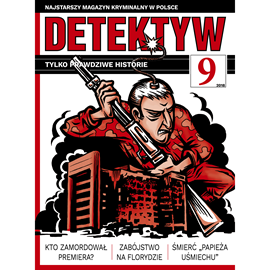 okładka Detektyw nr 9/2018, Audiobook   Agencja Prasowa S. A. Polska