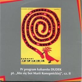"""okładka """"Kto się boi Marii Konopnickiej"""" cz.II Kabaret Dudek, Audiobook   DUDEK Kabaret"""