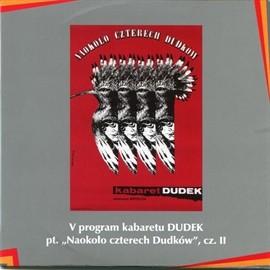 "okładka ""Naokoło czterech Dudków"" cz.II Kabaret DUDEK, Audiobook   DUDEK Kabaret"