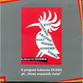 okładka Nowy wspaniały świat Kabaret DUDEK, Audiobook | DUDEK Kabaret