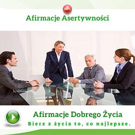okładka Afirmacje asertywnościaudiobook | MP3 | Dondziłło Grzegorz