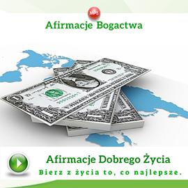 okładka Afirmacje bogactwaaudiobook | MP3 | Dondziłło Grzegorz