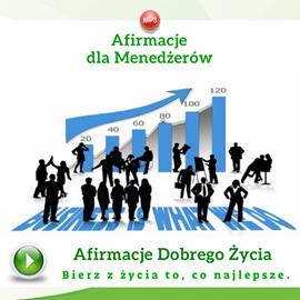 okładka Afirmacje dla menedżerówaudiobook | MP3 | Dondziłło Grzegorz