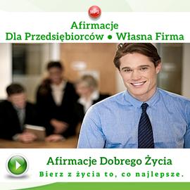okładka Afirmacje dla przedsiębiorców. Własna firmaaudiobook | MP3 | Dondziłło Grzegorz
