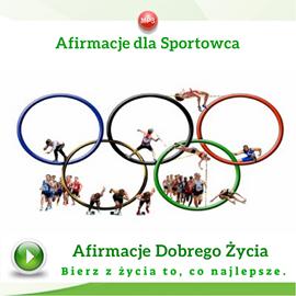 okładka Afirmacje dla sportowcówaudiobook | MP3 | Dondziłło Grzegorz