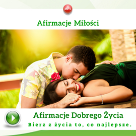 okładka Afirmacje miłości, Audiobook | Dondziłło Grzegorz