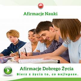 okładka Afirmacje nauki, Audiobook | Dondziłło Grzegorz