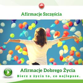 okładka Afirmacje szczęściaaudiobook | MP3 | Dondziłło Grzegorz