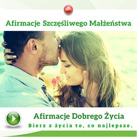 okładka Afirmacje szczęśliwego małżeństwa, Audiobook | Dondziłło Grzegorz