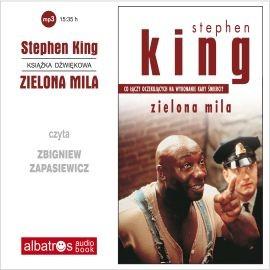 okładka Zielona milaaudiobook | MP3 | Stephen King