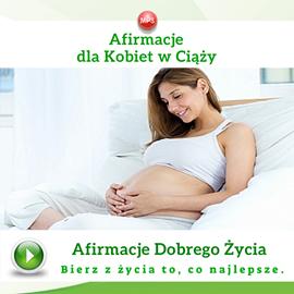 okładka Afirmacje dla kobiet w ciąży, Audiobook | Dondziłło Grzegorz
