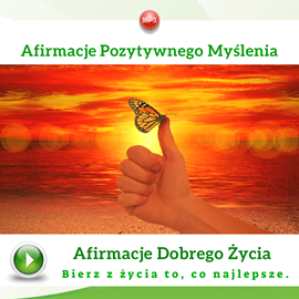 okładka Afirmacje pozytywnego myśleniaaudiobook | MP3 | Dondziłło Grzegorz