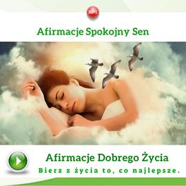 okładka Afirmacje. Spokojny sen, Audiobook | Dondziłło Grzegorz