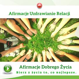 okładka Afirmacje uzdrawianie relacji, Audiobook | Dondziłło Grzegorz