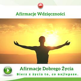 okładka Afirmacje wdzięczności, Audiobook | Dondziłło Grzegorz