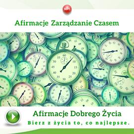 okładka Afirmacje zarządzanie czasem, Audiobook | Dondziłło Grzegorz