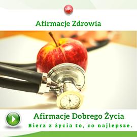 okładka Afirmacje zdrowiaaudiobook | MP3 | Dondziłło Grzegorz