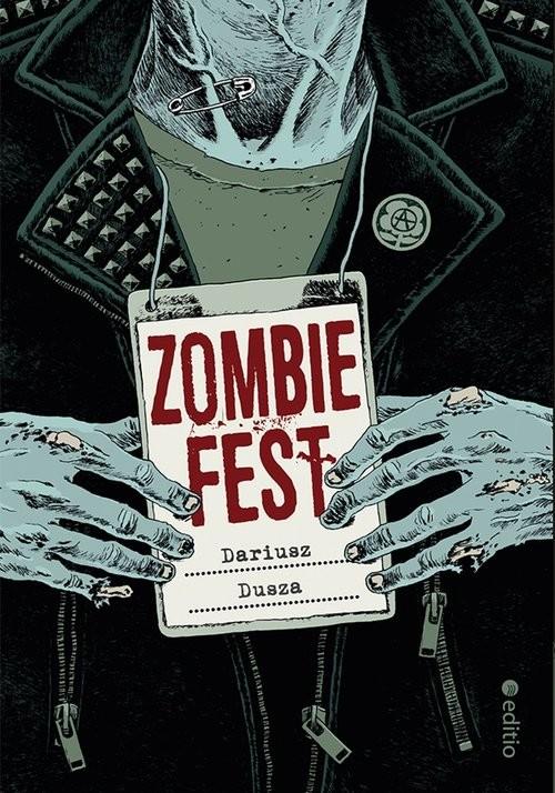 okładka Zombie Fest, Książka | Dusza Dariusz