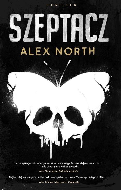 okładka Szeptacz, Książka | North Alex