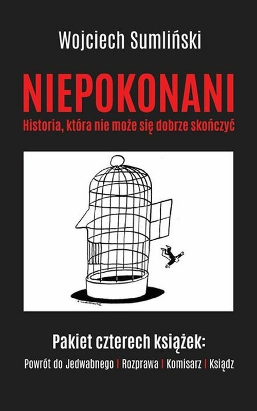 okładka Niepokonani Historia która nie może się dobrze skończyć, Książka | Wojciech Sumliński, Tomasz Budzyński, Wrona