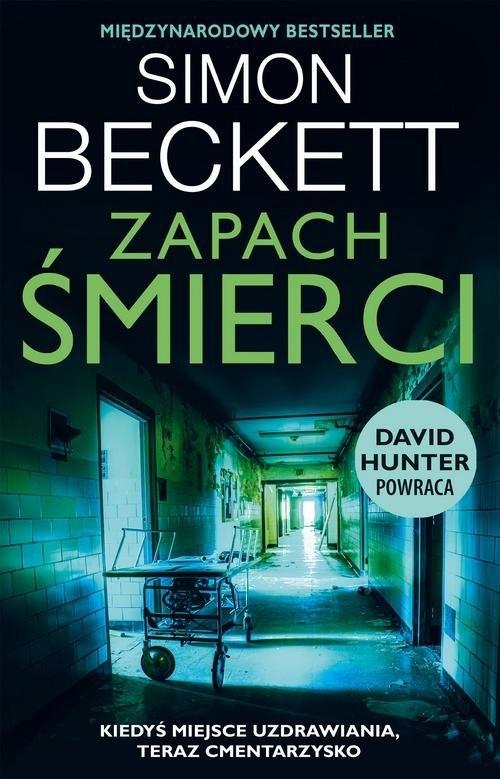 okładka Zapach śmierci, Książka | Simon Beckett