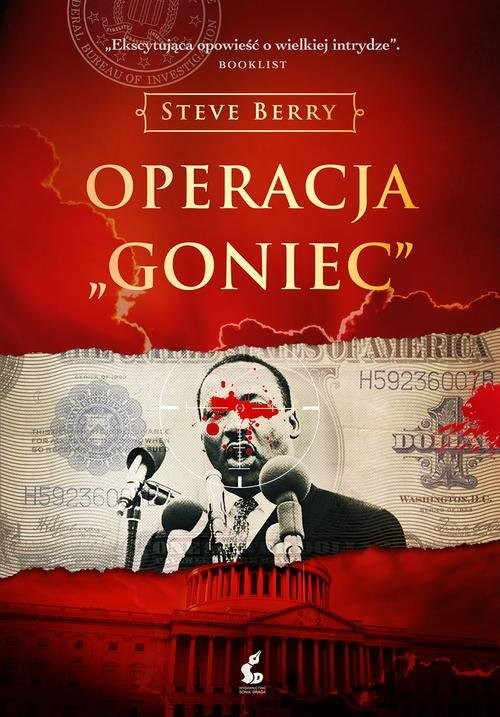 okładka Operacja Goniec, Książka | Steve Berry