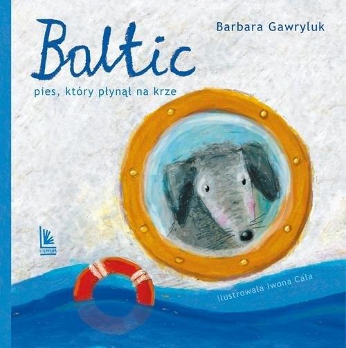okładka Baltic Pies który płynął na krze, Książka | Barbara  Gawryluk