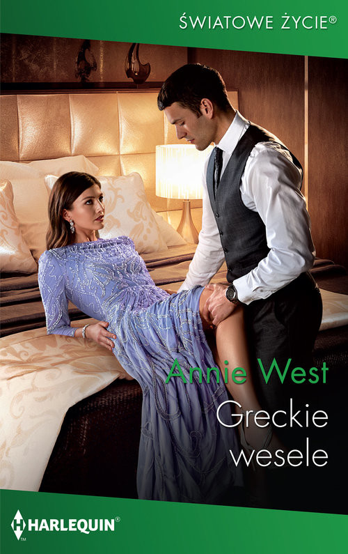 okładka Greckie wesele, Książka | West Annie