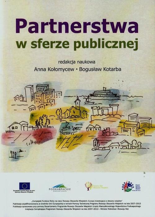 okładka Partnerstwa w sferze publicznej, Książka |