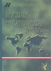 okładka Rocznik strategiczny 2003/2004książka     