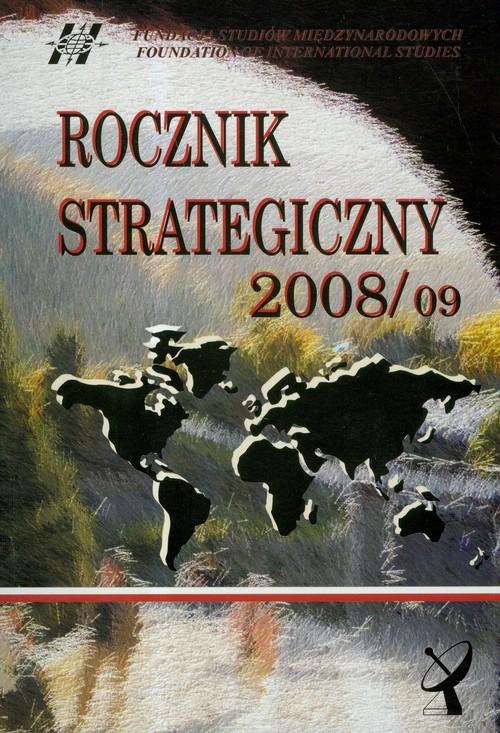 okładka Rocznik strategiczny 2008/2009, Książka |