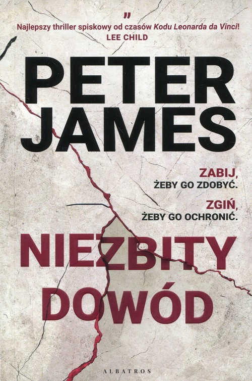 okładka Niezbity dowód, Książka | James Peter