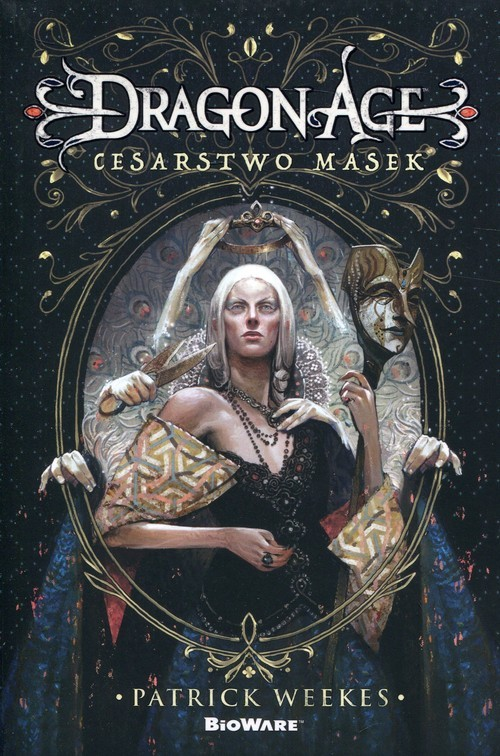 okładka Dragon Age Cesarstwo masek, Książka | Weekes Peter