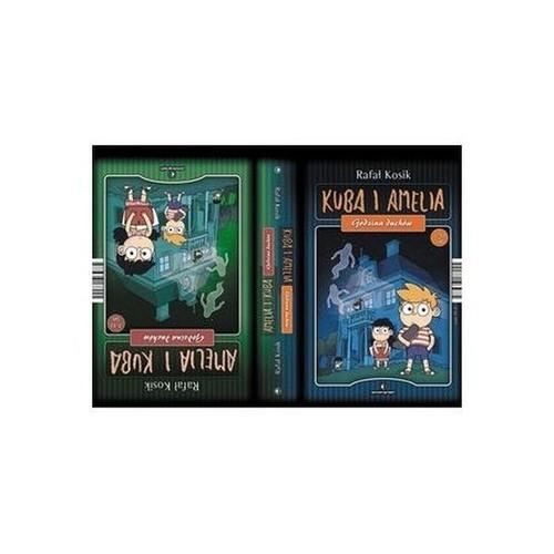 okładka Amelia i Kuba Kuba i Amelia Godzina duchów, Książka | Rafał Kosik