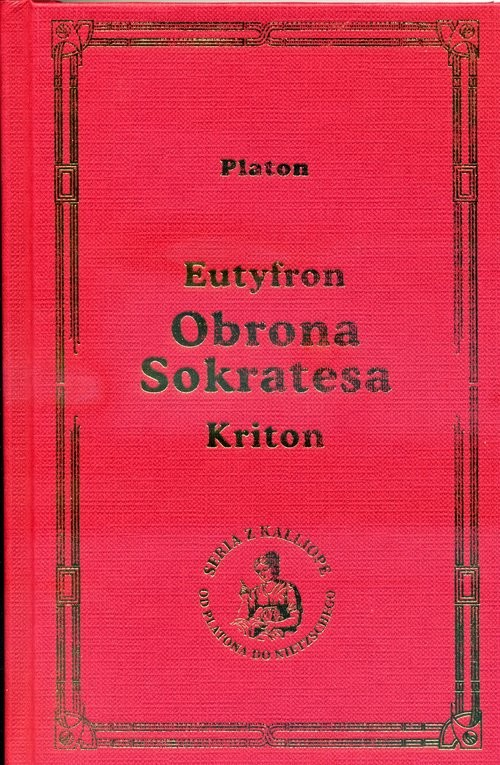 okładka Obrona Sokratesa, Książka | Platon