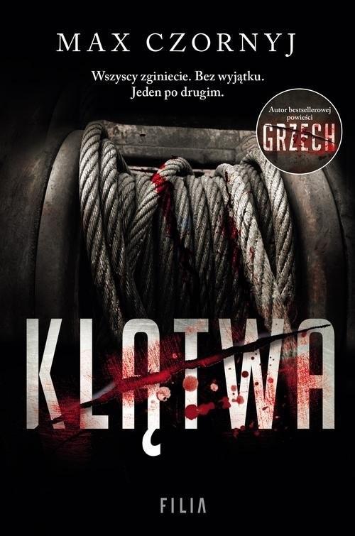 okładka Klątwa, Książka | Max Czornyj