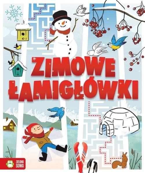 okładka Zimowe łamigłówki, Książka | Patrycja Wojtkowiak-Skóra, Anett Radziszewska