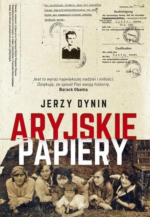 okładka Aryjskie papiery, Książka   Dunin Jerzy