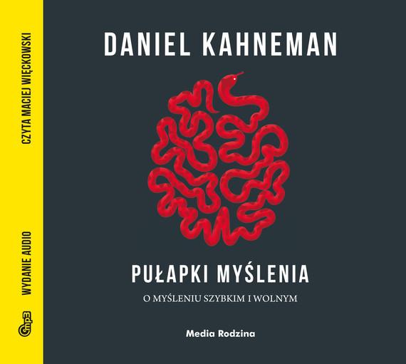 okładka Pułapki myślenia MP3, Audiobook | Daniel Kahneman