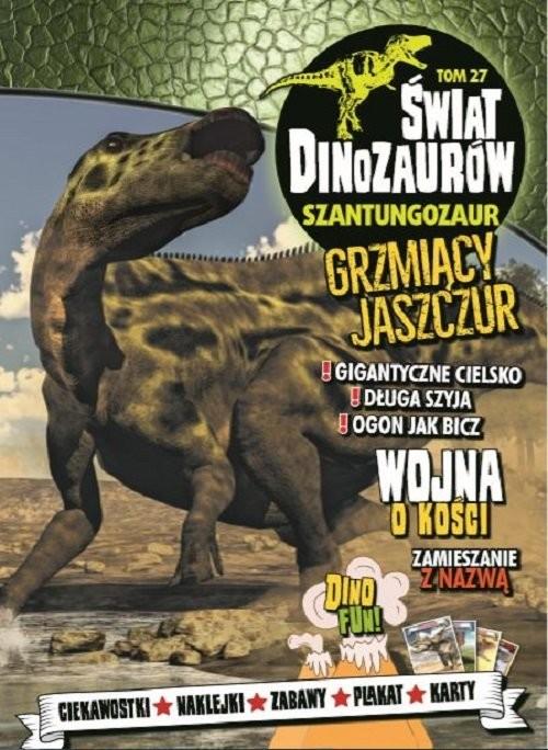okładka Świat Dinozaurów 27 Szantungozaur, Książka  