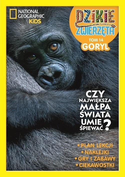 okładka Dzikie zwierzęta Tom 14 Goryl, Książka  