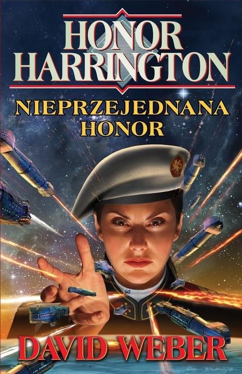 okładka Honor Harrington. Nieprzejednana Honor, Książka | David Weber