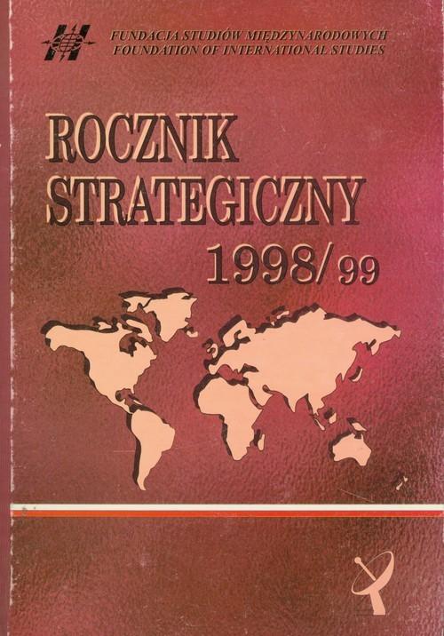 okładka Rocznik Strategiczny 1998/1999, Książka |