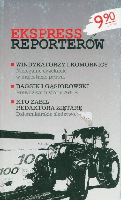 okładka Ekspress reporterówksiążka     
