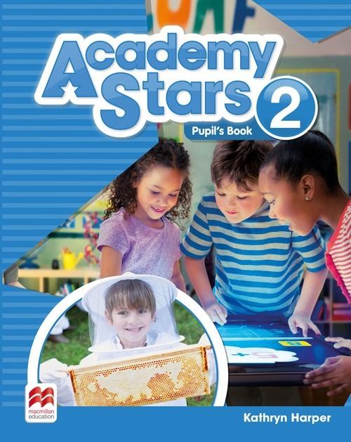 okładka Academy Stars 2 Pupil's Book, Książka | Harper Kathryn