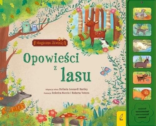 okładka Magiczne dźwięki Opowieści z lasu, Książka |
