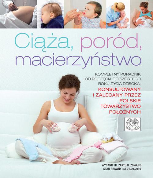 okładka Ciąża, poród, macierzyństwo, Książka   Paolo Sarti, Giuseppe Sparnacci