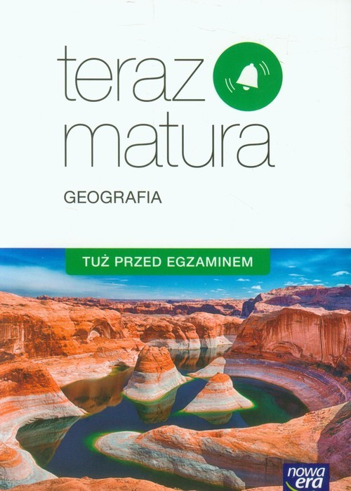 okładka Teraz matura Geografia Tuż przed egzaminem Szkoła ponadgimnazjalna, Książka | Jadwiga Brożyńska, Beata Woźniak
